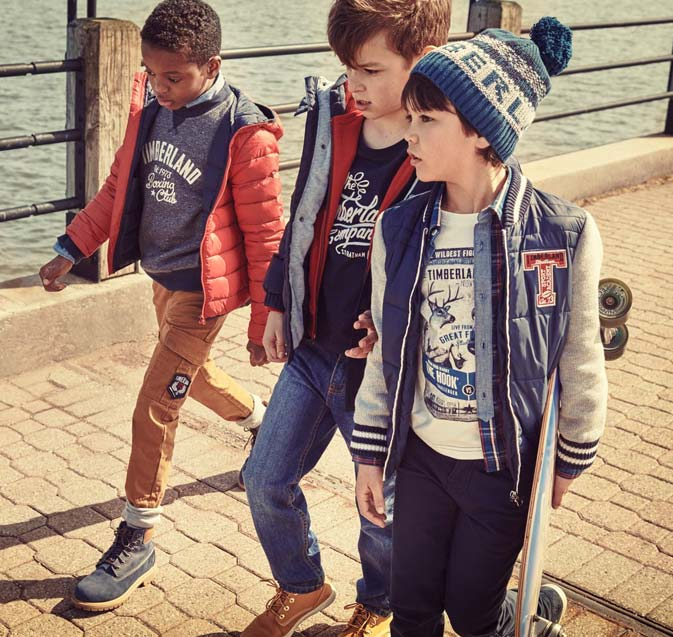 Timberland For Kids - Make Your Small Ones Smile This Winter