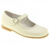 Spanish Leather Mary Jane Shoes by TNY by Tinny Shoes