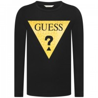 Guess Slim-fit tee with logo print