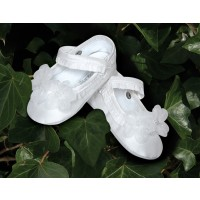 Sarah Louise Baby Girls Christening Shoes