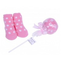 Candy Treats Lollipop Socks by Bluebird