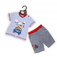 Pitter Patter Top and Shorts Set