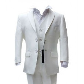 Ivory 3PC Boys Suit by Romano