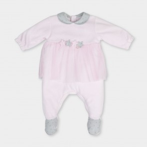 Tutto Piccolo Girls Frilled Baby Grow