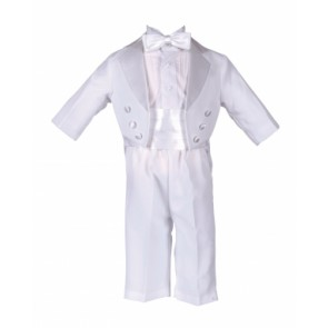 4 Piece Christening Suit by Vianni