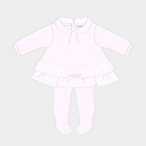 Tutto Piccolo Baby Girls Dress and Tights