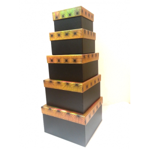 Gold Squares Gift boxes