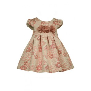 Bonnie Jean Baby Daisy Jacquard Dress