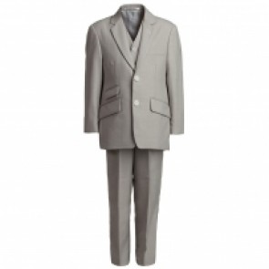 Beige 3pc Boys Suit by Romano