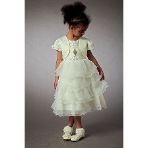 Couche Tot Flower Girl Dress with Bolero