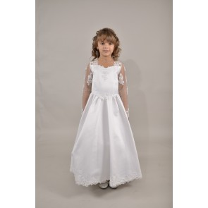 Sweetie Pie Special Occasion Schiffli Lace Dress