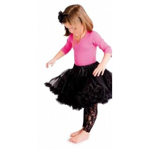 Country Kids Footless Lace Tights