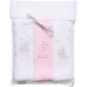 Absorba Muslin Square Pack