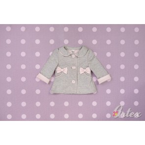 Artex Girls Grey Coat with Front Pockets