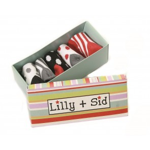 Lilly + Sid Unisex Baby Socks in a Box