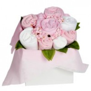 The Flower Stork Baby Girl Blossom Box