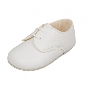 Early Days Lace Up Gibson Pram Shoe