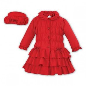 Dani Girls Coat and Hat Set