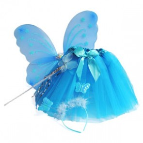 Candy Bows Tutu & Wings Princess Set