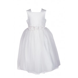 Sleeveless First Communion Dress