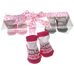 Gorgeous Diamante Socks Gift Set