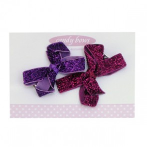 Glitter Bow Set by Candy Bows