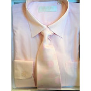 Sebastian Le Blanc Italian Collar Shirt and tie set