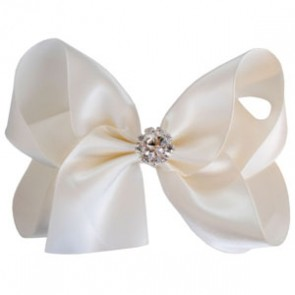 Candy Bows Satin Crystal Bow