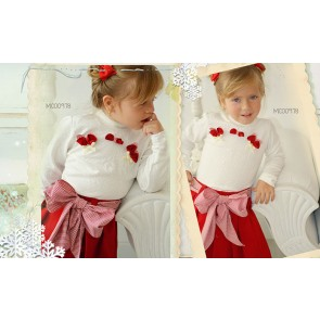 Pretty Originals Girls Blouse and Skirt Set