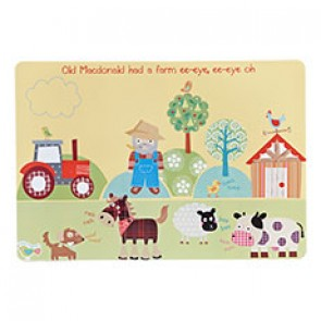 Old MacDonald's Farm Placemat by Churchill China