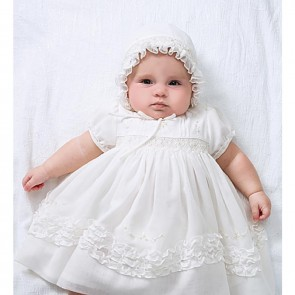 Sarah Louise Dress and Bonnet Christening Set