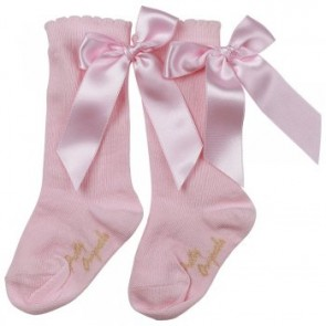 Pretty Originals Knee High Bow Socks