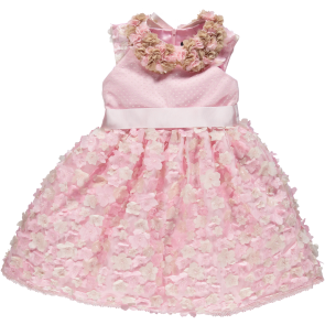 Piccola Speranza Pink Floral Occasion Dress