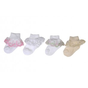 Girls/Babies Cherry lace socks from PEX