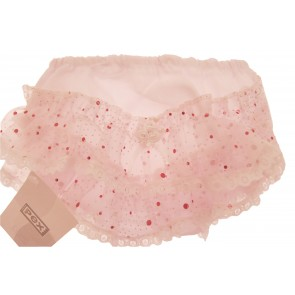 Sparkle frill baby girls pants from PEX