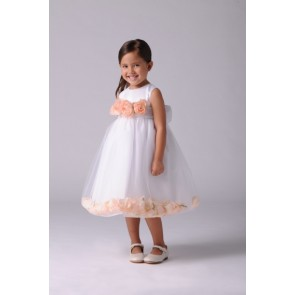 US Angels Girls Toddler Petal Dress