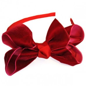 Traditional Velvet Hairband by Candy Bows