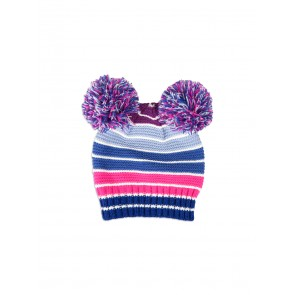 Pumpkin Patch Girls Striped Beanie