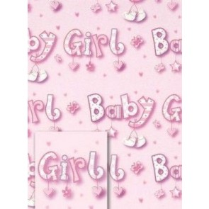 Baby Girl Wrapping Paper