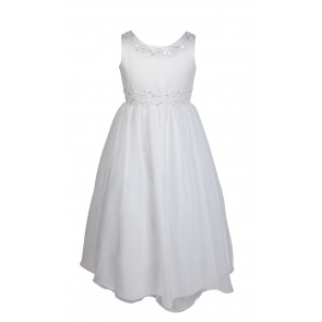 Frazer & James of Knightsbridge Floral Communion Dress